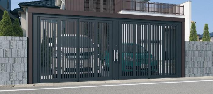 スライディングゲート(三協アルミ)